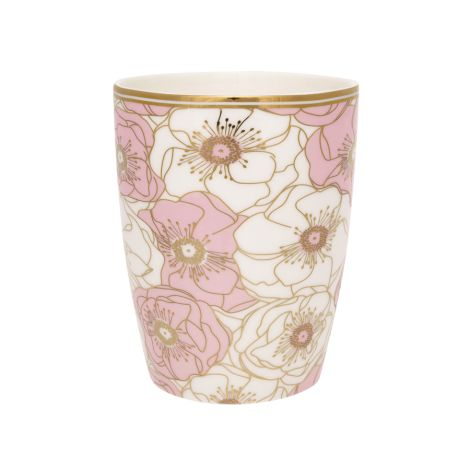 Gate Noir by GreenGate Latte Cup Flori Pale Pink •