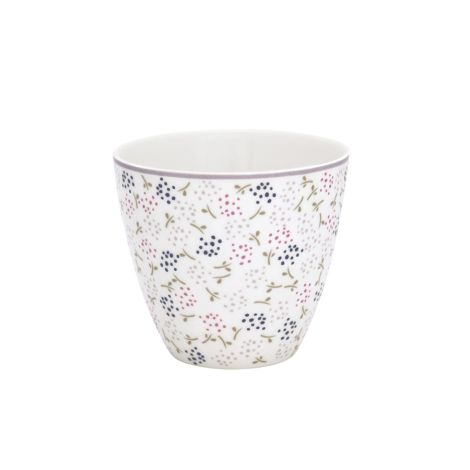 GreenGate Latte Cup Becher Ginny White