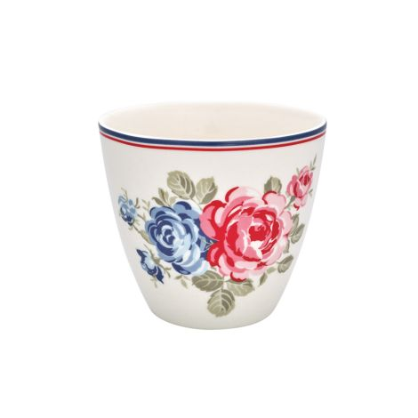 GreenGate Latte Cup Becher Hailey White •