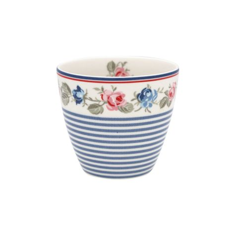GreenGate Latte Cup Becher Hailey stripe White