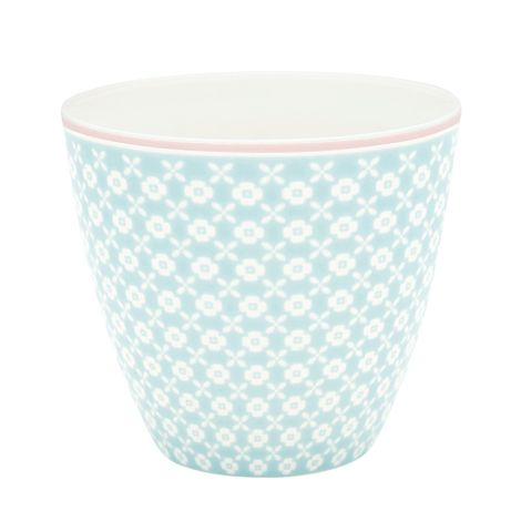 GreenGate Latte Cup Becher Helle Pale Blue