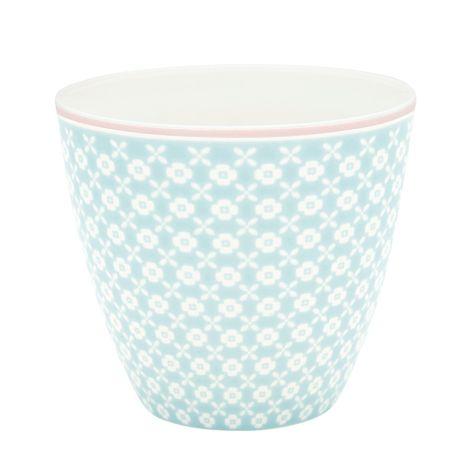 GreenGate Latte Cup Becher Helle Pale Blue