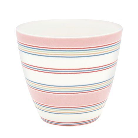 GreenGate Latte Cup Becher Imke Pale Pink