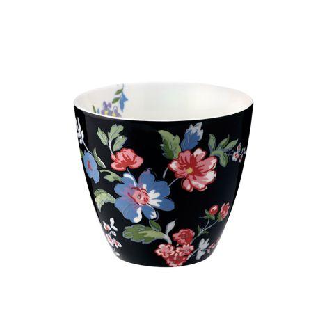GreenGate Latte Cup Becher Isobel Black