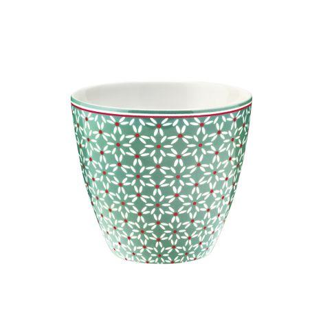 GreenGate Latte Cup Becher Juno Green