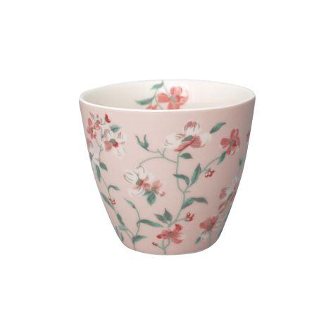 GreenGate Latte Cup Becher Jolie Pale Pink