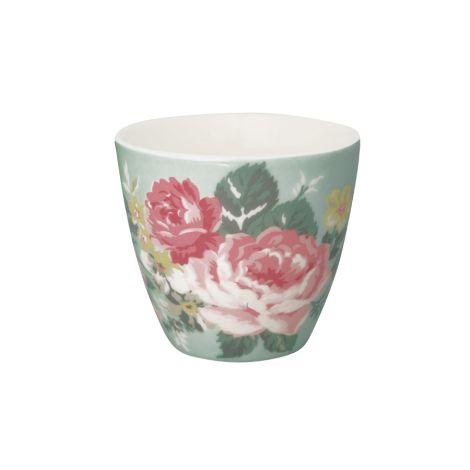 GreenGate Latte Cup Becher Josephine Pale Mint