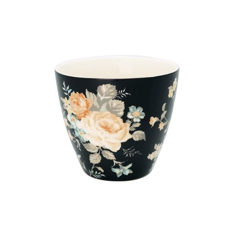 GreenGate Latte Cup Becher Josephine Black •