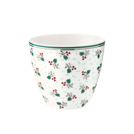 GreenGate Latte Cup Becher Joselyn White •
