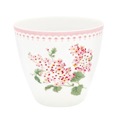 GreenGate Latte Cup Becher Luna White