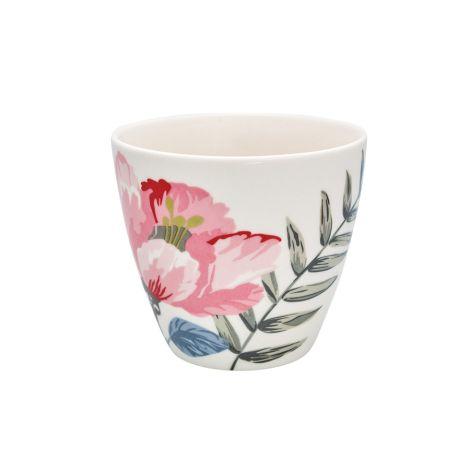 GreenGate Latte Cup Becher Magnolia White