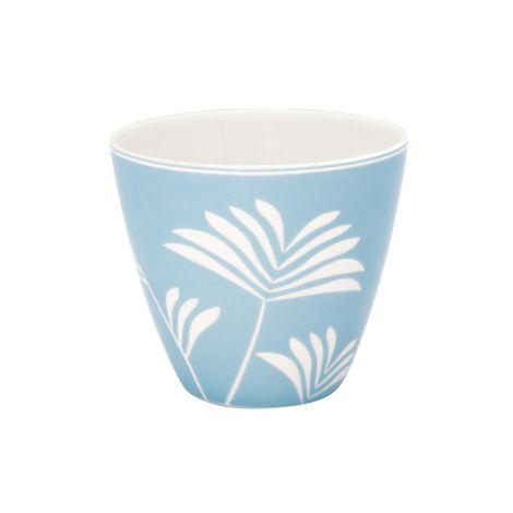 GreenGate Latte Cup Becher Maxime dusty Blue