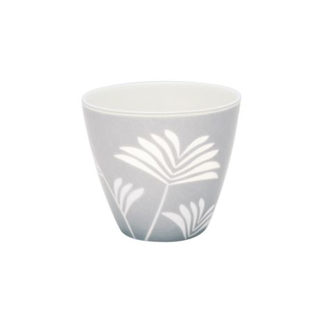 GreenGate Latte Cup Becher Maxime Pale Grey