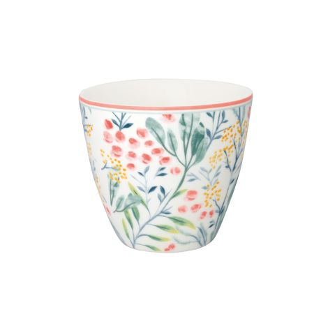 GreenGate Latte Cup Becher Megan White