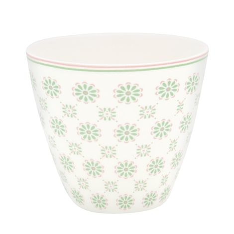 GreenGate Latte Cup Becher Mila White