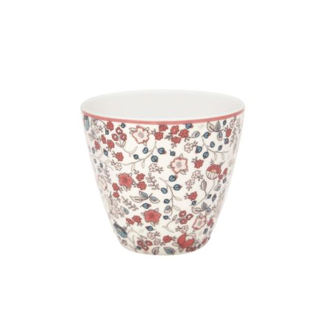 GreenGate Latte Cup Becher Miley White