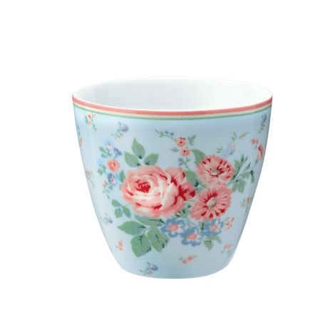 GreenGate Latte Cup Becher Marley Pale Blue