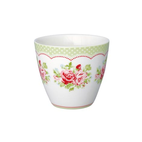 GreenGate Latte Cup Becher Mary White