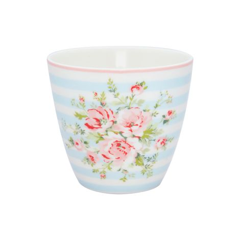 GreenGate Latte Cup Becher Nellie Pale Blue