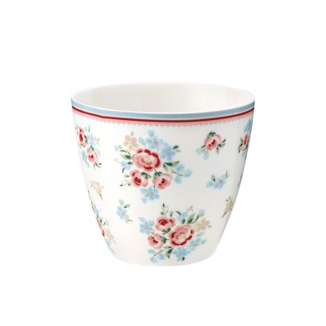 GreenGate Latte Cup Becher Nicoline White