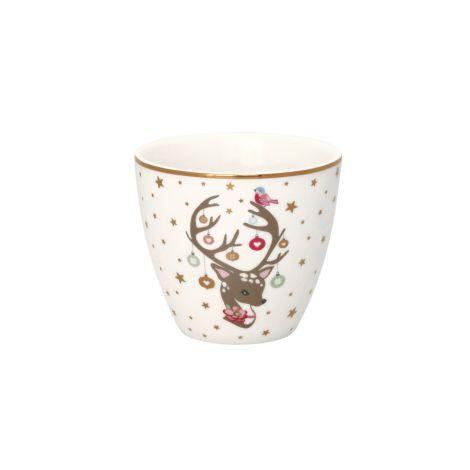 GreenGate Latte Cup Becher Dina White