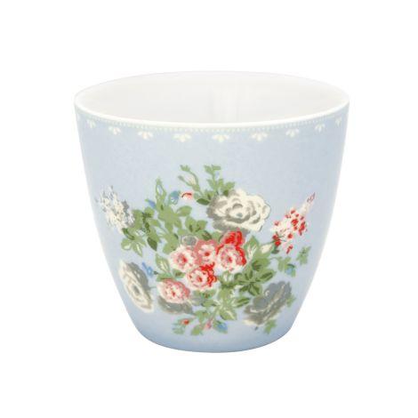 GreenGate Latte Cup Becher Petricia Pale Blue