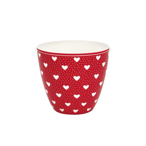 GreenGate Latte Cup Becher Penny Red