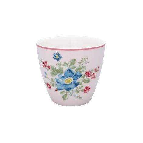 GreenGate Latte Cup Becher Roberta Pale Pink