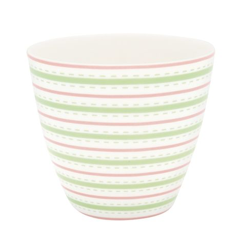GreenGate Latte Cup Becher Sari White
