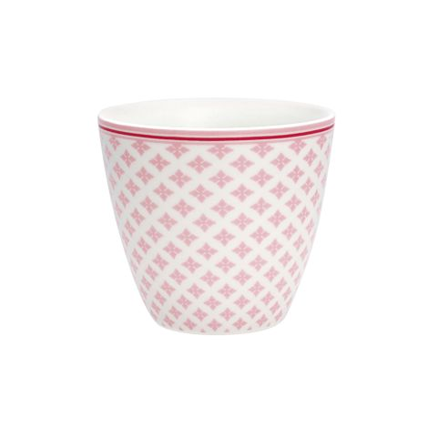 GreenGate Latte Cup Becher Sasha Pale Pink