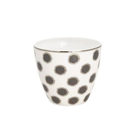 GreenGate Latte Cup Becher Savannah White