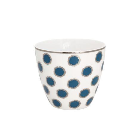 GreenGate Latte Cup Becher Savannah Blue