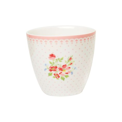 GreenGate Becher Latte Cup Sinja White