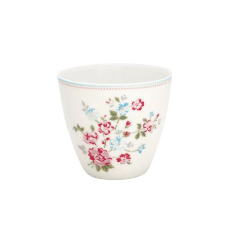 GreenGate Latte Cup Becher Sonia White