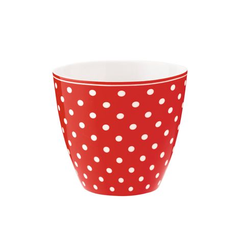 GreenGate Latte Cup Becher Spot Red