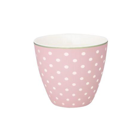 GreenGate Latte Cup Becher Spot Pale Pink