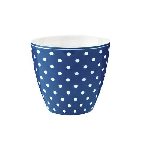 GreenGate Latte Cup Becher Spot Blue