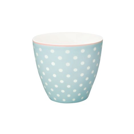 GreenGate Latte Cup Becher Spot Pale Blue