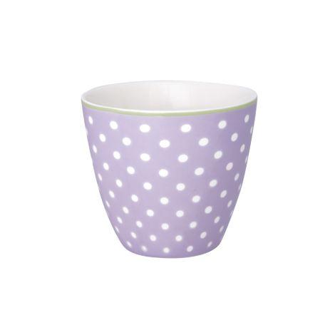 GreenGate Latte Cup Becher Spot Lavendar •