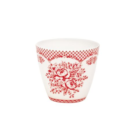 GreenGate Latte Cup Becher Stephanie Red •