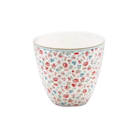 GreenGate Latte Cup Becher Tilly White