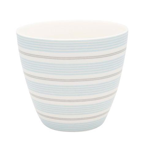 GreenGate Latte Cup Becher Tova Pale Blue