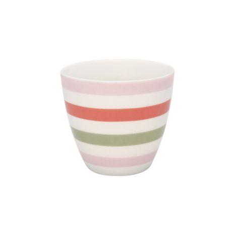 GreenGate Latte Cup Becher Valentina White