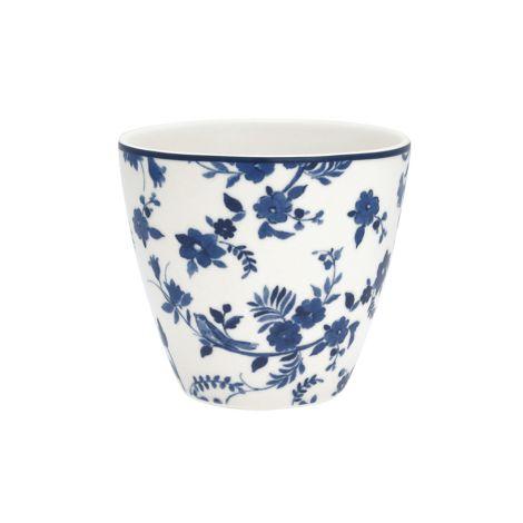 GreenGate Latte Cup Becher Vanessa Blue
