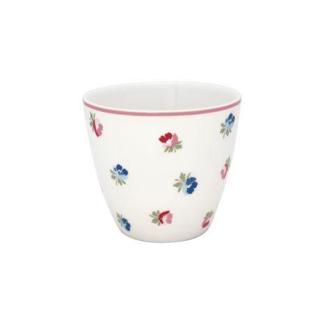 GreenGate Latte Cup Becher Viola White