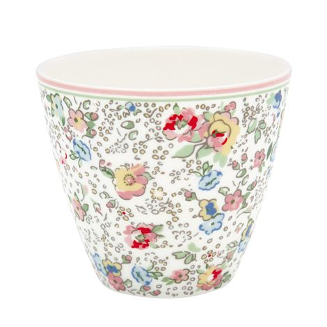 GreenGate Latte Cup Becher Vivianne White