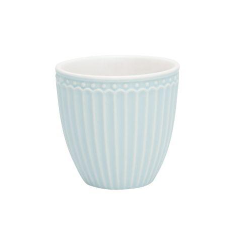 GreenGate Mini Latte Cup Becher Alice Pale Blue