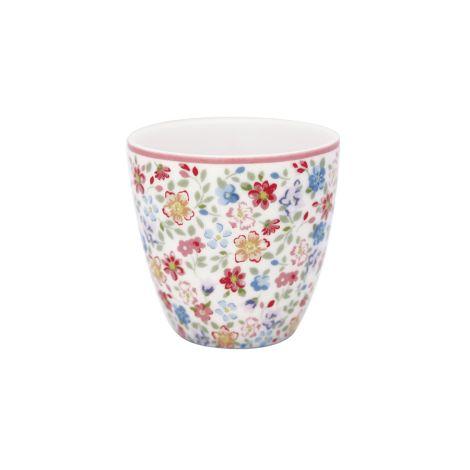 GreenGate Mini Latte Cup Becher Clementine White