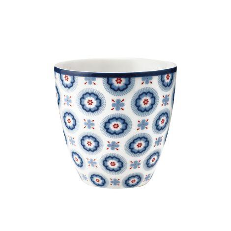 GreenGate Mini Latte Cup Becher Erin Petit Pale Blue