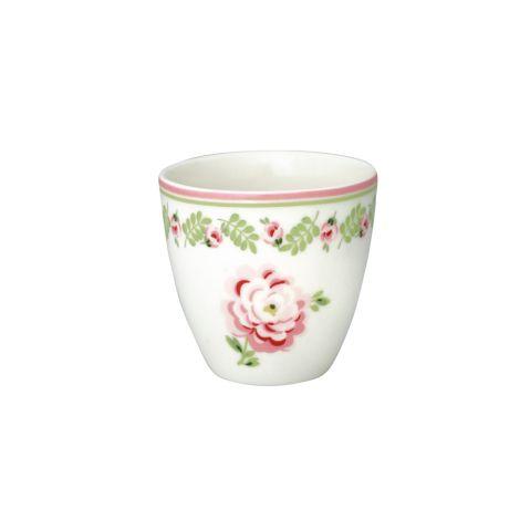 GreenGate Mini Latte Cup Becher Lily Petit White •